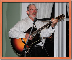 Jay Einhorn performs at a Musical Seminar